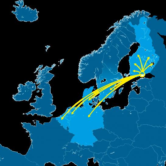 kuljetus euroopassa